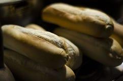 Свеже испеченный хлеб flautas стоковая фотография rf