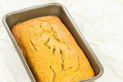 Свеже испеченный хлеб банана Стоковые Изображения RF