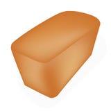 Свеже испеченный хлеб на белой предпосылке Стоковое фото RF