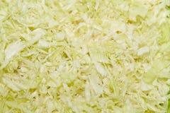Свеже отрежьте салат капусты Стоковая Фотография