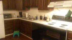 Свеже очищенный счетчик кухни Стоковое Изображение RF