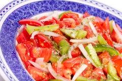 Свеже подготавливайте сделанный португальский салат Стоковые Фотографии RF
