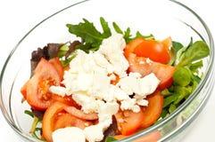 свеже сделанный салат стоковое изображение rf