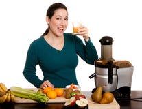 свеже сжатое органическое сока плодоовощ плодоовощ Стоковые Фото
