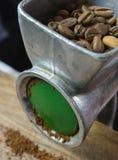свеже смолотый кофе Стоковая Фотография RF