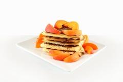 Свежие бельгийские waffles Стоковые Изображения