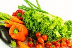 Свежие био овощи Стоковое Изображение