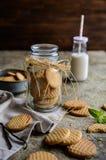 Свежие ванильные печенья масла Стоковая Фотография RF