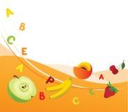 свежие витамины Стоковые Фото