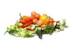 Свежие вкусные овощи Стоковые Изображения RF