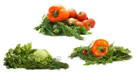Свежие вкусные овощи Стоковое Изображение RF