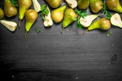 свежие груши зрелые Стоковое Изображение RF