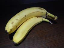Свежие желтые зрелые бананы вполне сахара Стоковое фото RF