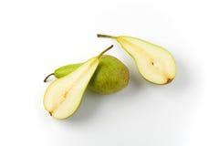 свежие зеленые груши Стоковые Фотографии RF
