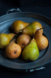 Свежие зрелые груши Стоковая Фотография