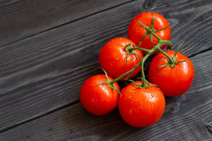 свежие зрелые томаты Стоковое Изображение RF