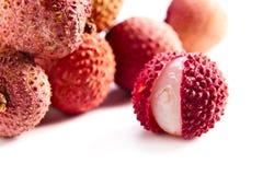 Свежие зрелые lychees Стоковая Фотография RF