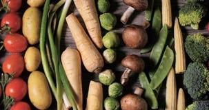 Свежие, здоровые, органические овощи Стоковые Фото