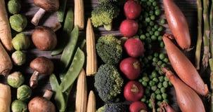 Свежие, здоровые, органические овощи Стоковая Фотография RF