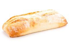 Свежие испеченные белые объекты багета хлеба ciabatta Стоковые Фото