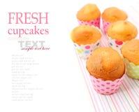 Свежие испеченные пирожные Стоковая Фотография
