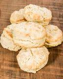 Свежие испеченные теплые штабелированные печенья Стоковое Изображение RF