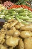 Свежие картошки и овощи Стоковые Фотографии RF