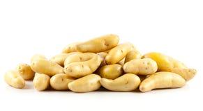 Свежие картошки на белизне Стоковое фото RF