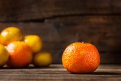 Свежие Клементины или Tangerines стоковые фотографии rf