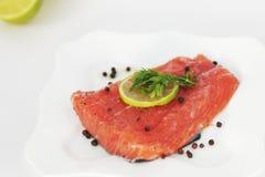 Свежие красные рыбы Стоковая Фотография
