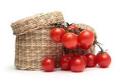 свежие красные томаты Стоковые Изображения RF