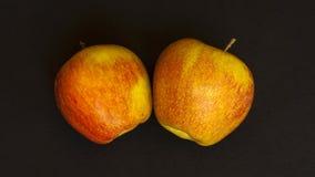 Свежие красные яблоки Стоковое Изображение RF
