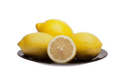 свежие лимоны Стоковое Изображение RF
