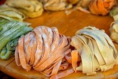 свежие макаронные изделия Стоковое Фото