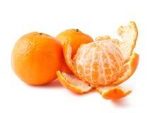 свежие мандарины зрелые стоковое изображение