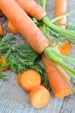 Свежие моркови Стоковая Фотография
