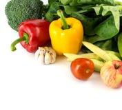 свежие овощи группы Стоковая Фотография