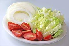 Свежие овощи отрезка стоковые фотографии rf