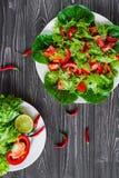 свежие овощи салата Стоковое Изображение