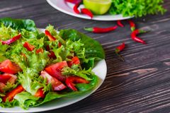 свежие овощи салата Стоковая Фотография