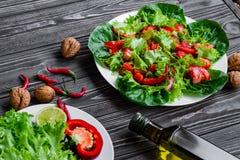 свежие овощи салата Стоковые Изображения RF