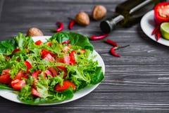 свежие овощи салата Стоковое Изображение RF