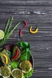 свежие овощи салата Стоковые Фото
