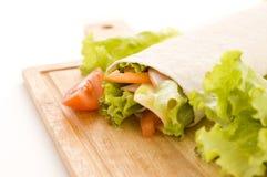 свежие овощи сандвича Стоковые Изображения RF