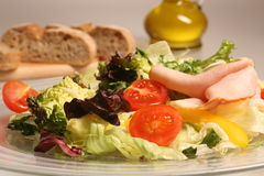 свежие овощи смешанного салата Стоковое Фото