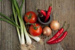 свежие овощи смешивания Стоковые Фотографии RF