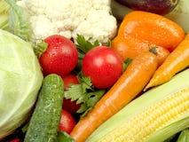 свежие овощи текстуры Стоковые Фотографии RF
