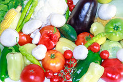 Свежие овощи для диеты вытрезвителя Стоковая Фотография