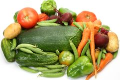 свежие овощи стоковое фото