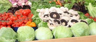 Свежие овощи. Стоковое Фото